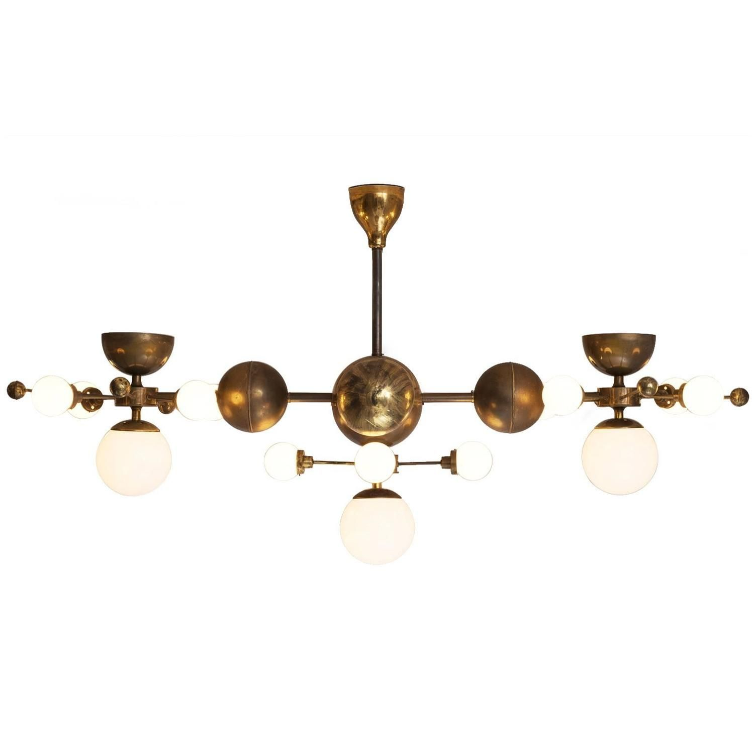 Extreme large 8 ft brass sputnik chandelier 1 misty mountain chandeliers arubaitofo Image collections
