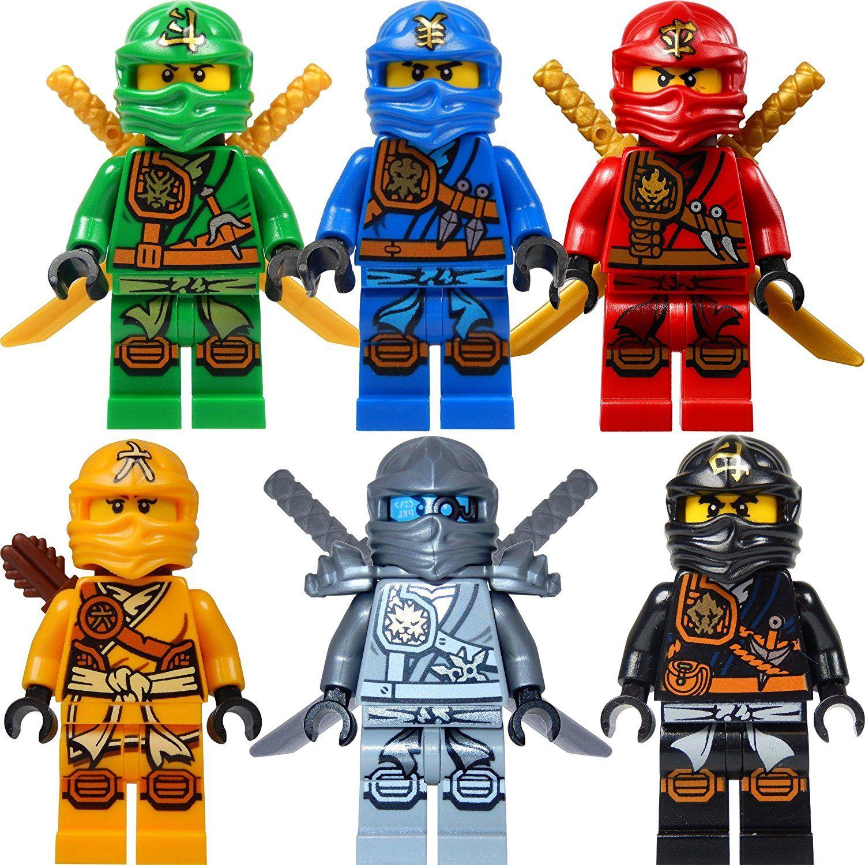 LEGO Ninjago Figure Set: 6 Ninjago chiffres (Lloyd, Jay ...