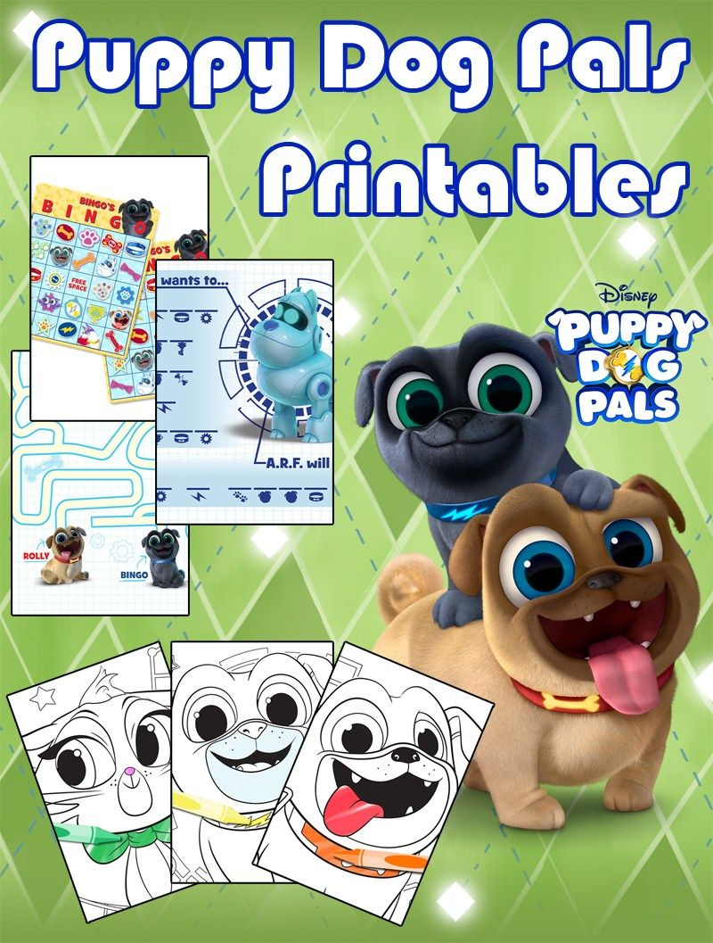 Puppy Dog Pals is Adorably PawSome Puppy Dog Pals Pinterest