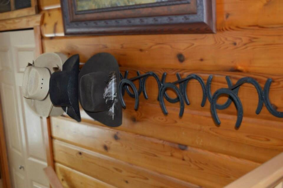 Would Also Be A Great Bridal Rack Diy Hat Rack Cowboy