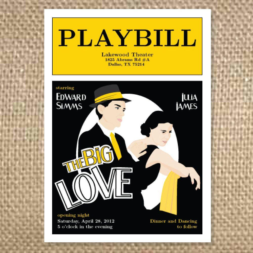 Theater Lovers Invitation
