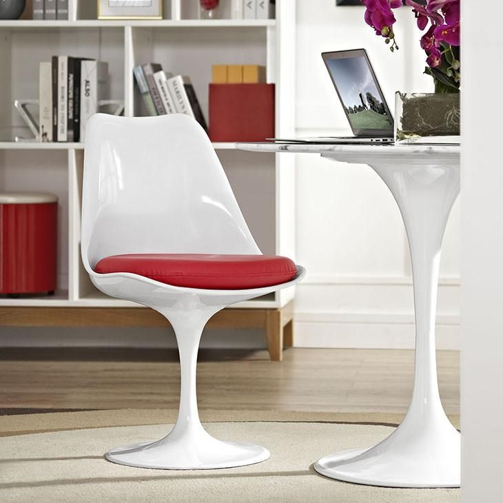 Tulip Style Dining Vinyl Side Chair nel 2020