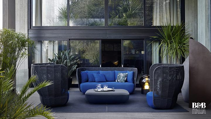 Bu0026B ITALIA: Designed By Doshi Levien, Bay Armchairs Are Interlaced Volumes  Combined With .