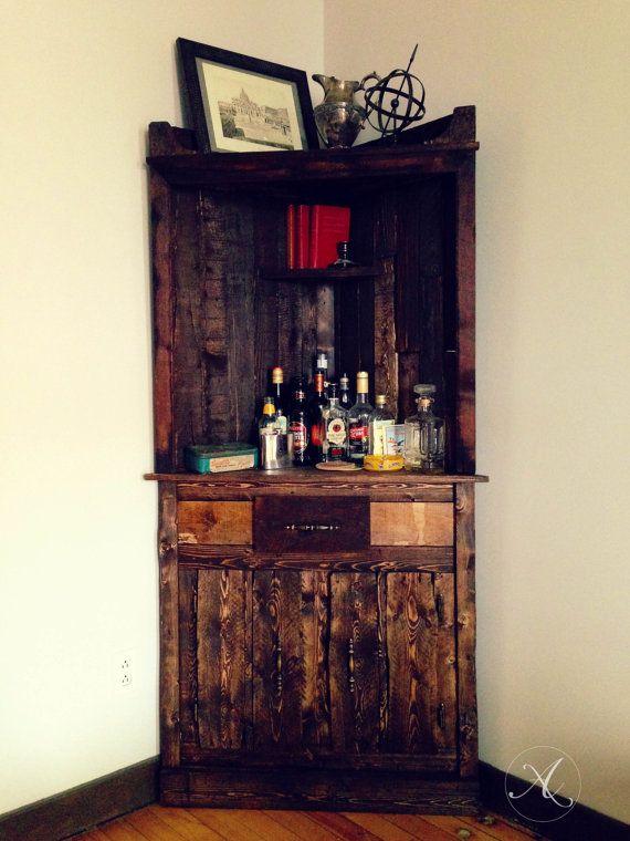 buffet bois de palette bois recycl meuble en coin amore fati projet bois recycl. Black Bedroom Furniture Sets. Home Design Ideas
