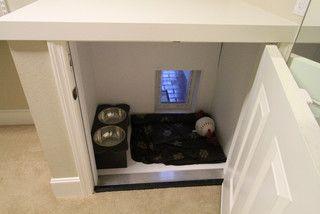 creative hidden indoor outdoor dog kennel made a little bigger and
