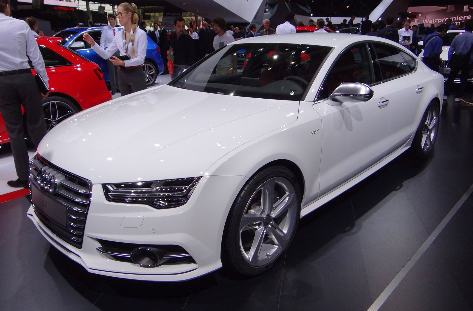 2016 audi a7 white. 2016 audi a7 and s7 full details live photos video see white h