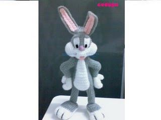 bugs bunny Amigurumi