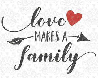 This is us SVG family svg couple svg heart family quote | Etsy