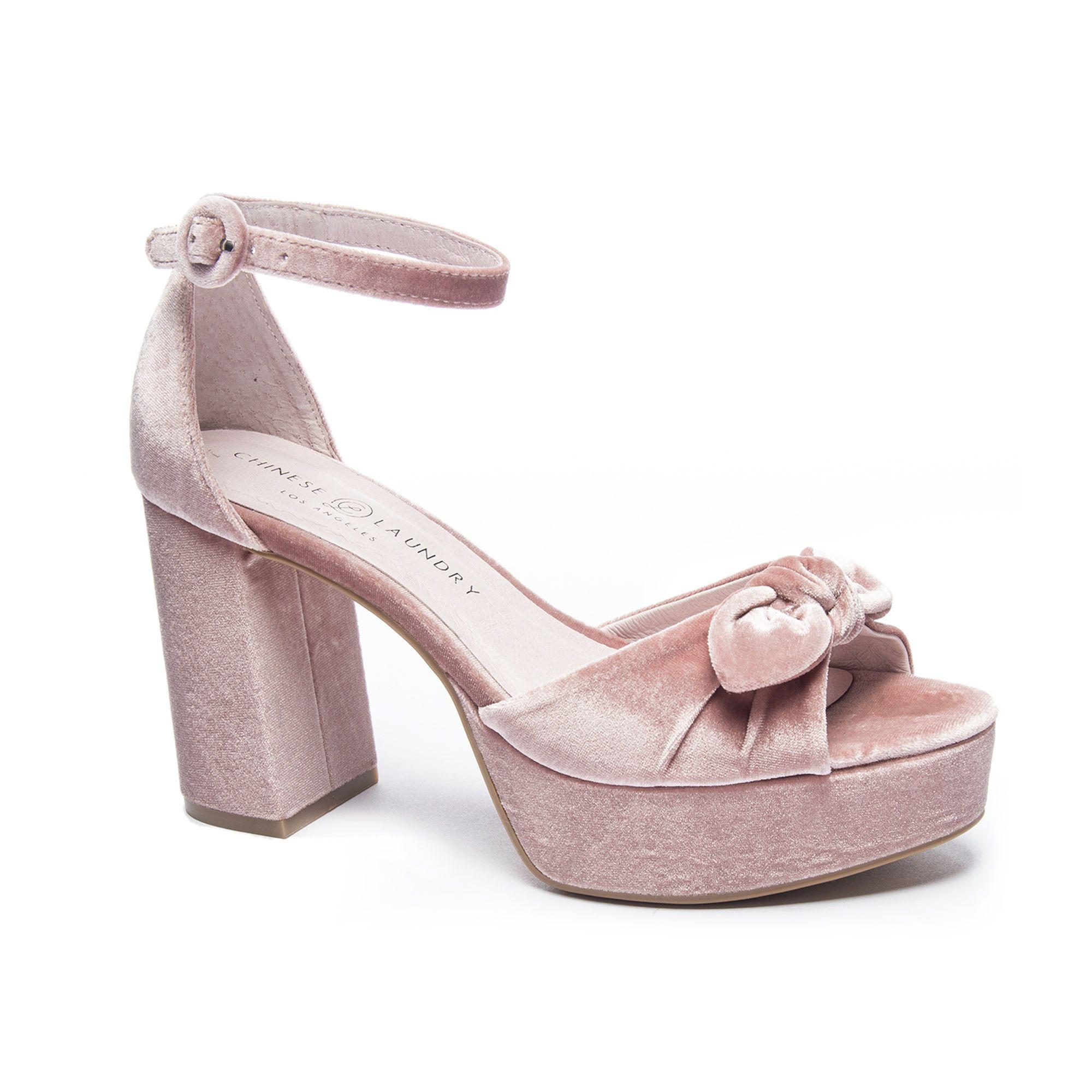 dfbffe2b69b Lace Up Sandals for Women. Chinese Laundry Tina Velvet Platform Sandal