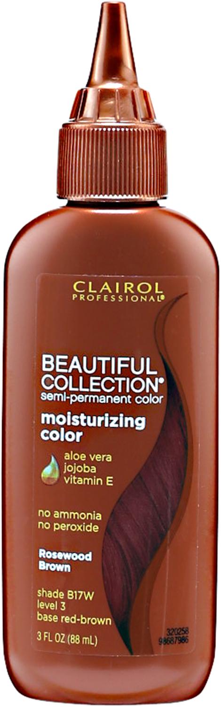 17w Rosewood Brown Moisturizing Semi Permanent Hair Color Hair