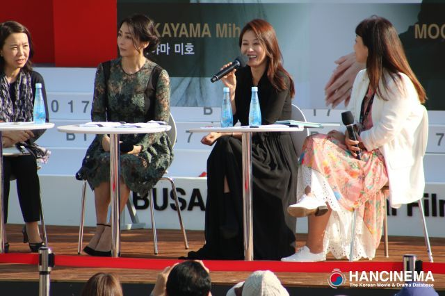 "[HanCinema On Site] Beautiful actress Moon So-ri's ""Open Talk"" with Japanese actress Miho Nakayama"