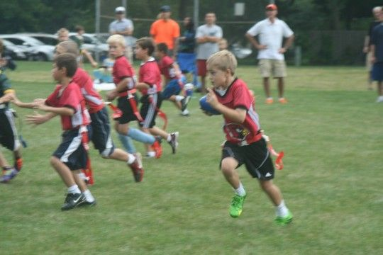 Flag Football Clinic Flag Football Football Kids Events
