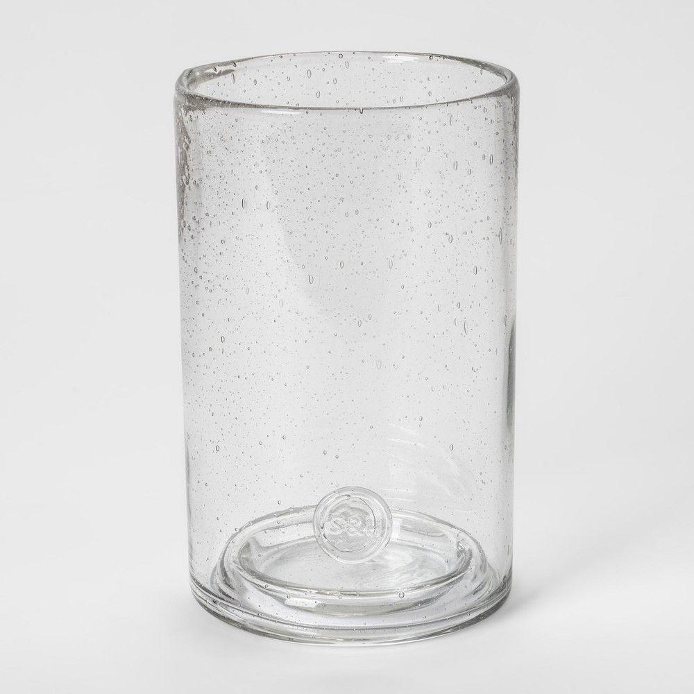 Pillar Holder Bubbled Glass Smith Hawken In 2019 Home Decor