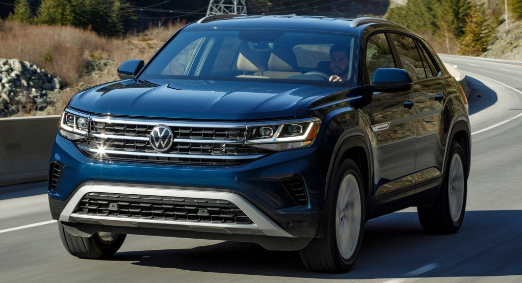 Vws New Logo Comes Stateside Debuts On 2020 Atlas Cross Sport Volkswagen Unveiled Their New Logo Last Septe In 2020 Sports Cars Luxury Living In Car Car Inspiration