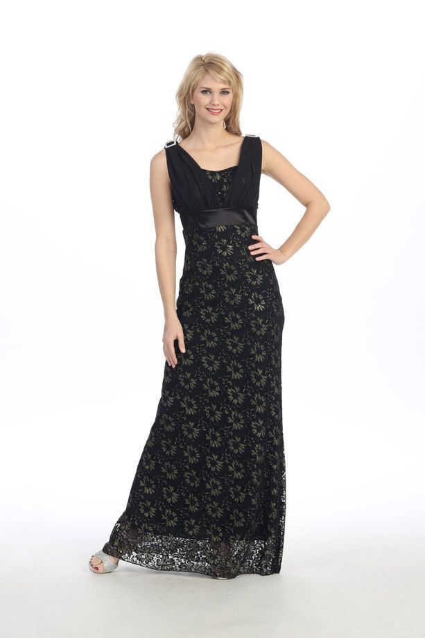 Formal Lace Mother of the Bride Long Party Dress