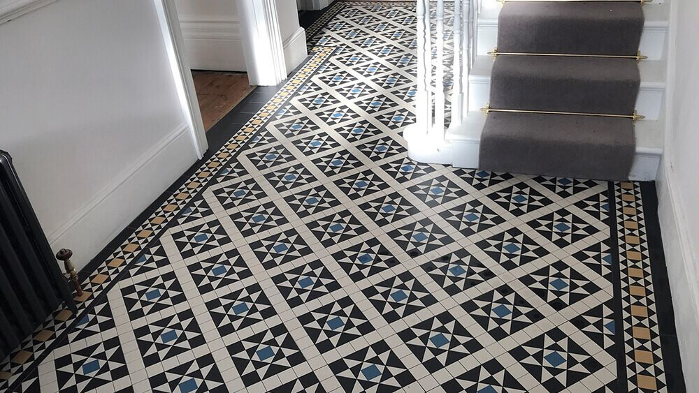Victorian Mosaic Hall Floor Ceramic Tiles Bexley Design View In Our Catalogue With Images Wall Tiles Design Floor Tile Design Tile Design