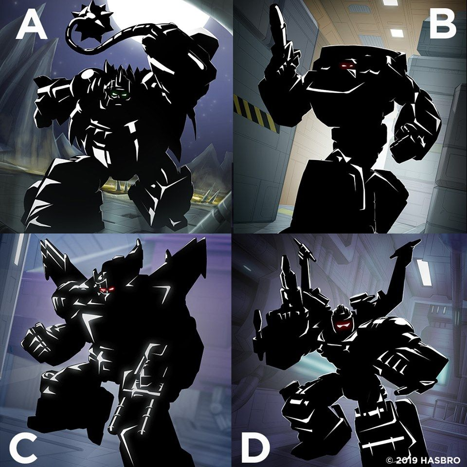2020 Transformers War for Cybertron Toyline Fan Vote (With