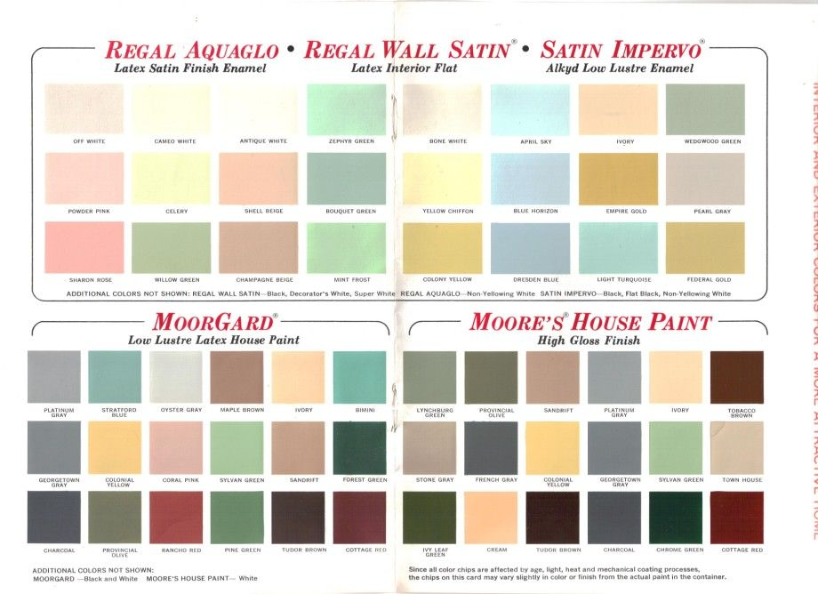 15 pages of Brady Bunch house colors - 1969 | Retro renovation ...