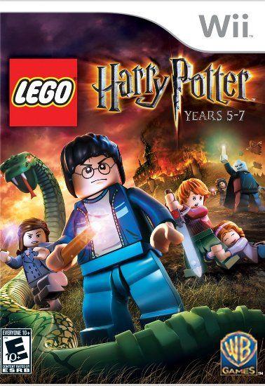 Amazon Com Lego Harry Potter Years 5 7 Nintendo Wii Unknown Video Games Lego Harry Potter Harry Potter Years Harry Potter Games