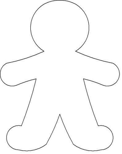 gingerbread man - Cerca con Google xmas Pinterest - gingerbread man template