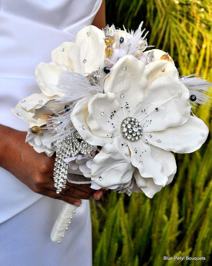 Empress Magnolias By Bluepetyl Broochbouquet Bouquet You Want It