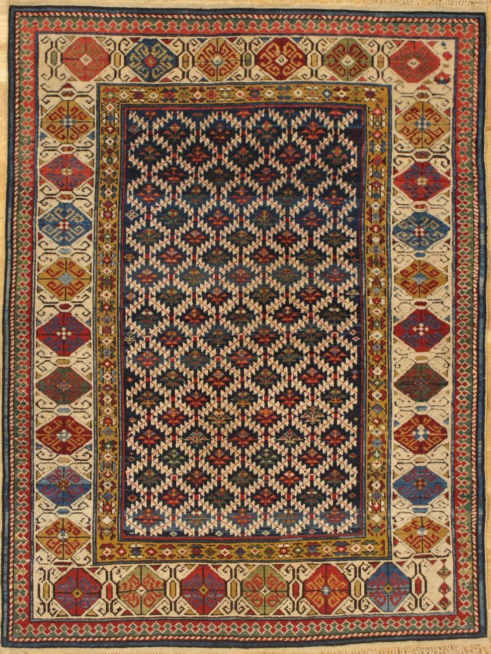 Zejwa Rug From Eastern Caucasus Kuba District West Coast Of The Caspian Sea Age Circa 1880 Size 6 0 X4 1 183x124 Cm Rugs Rugs On Carpet Tribal Carpets