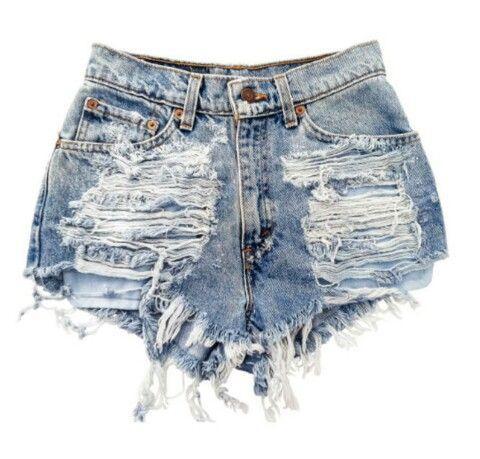 a10f440ac Cómo transformar jeans en shorts en menos de lo que te duran las ...