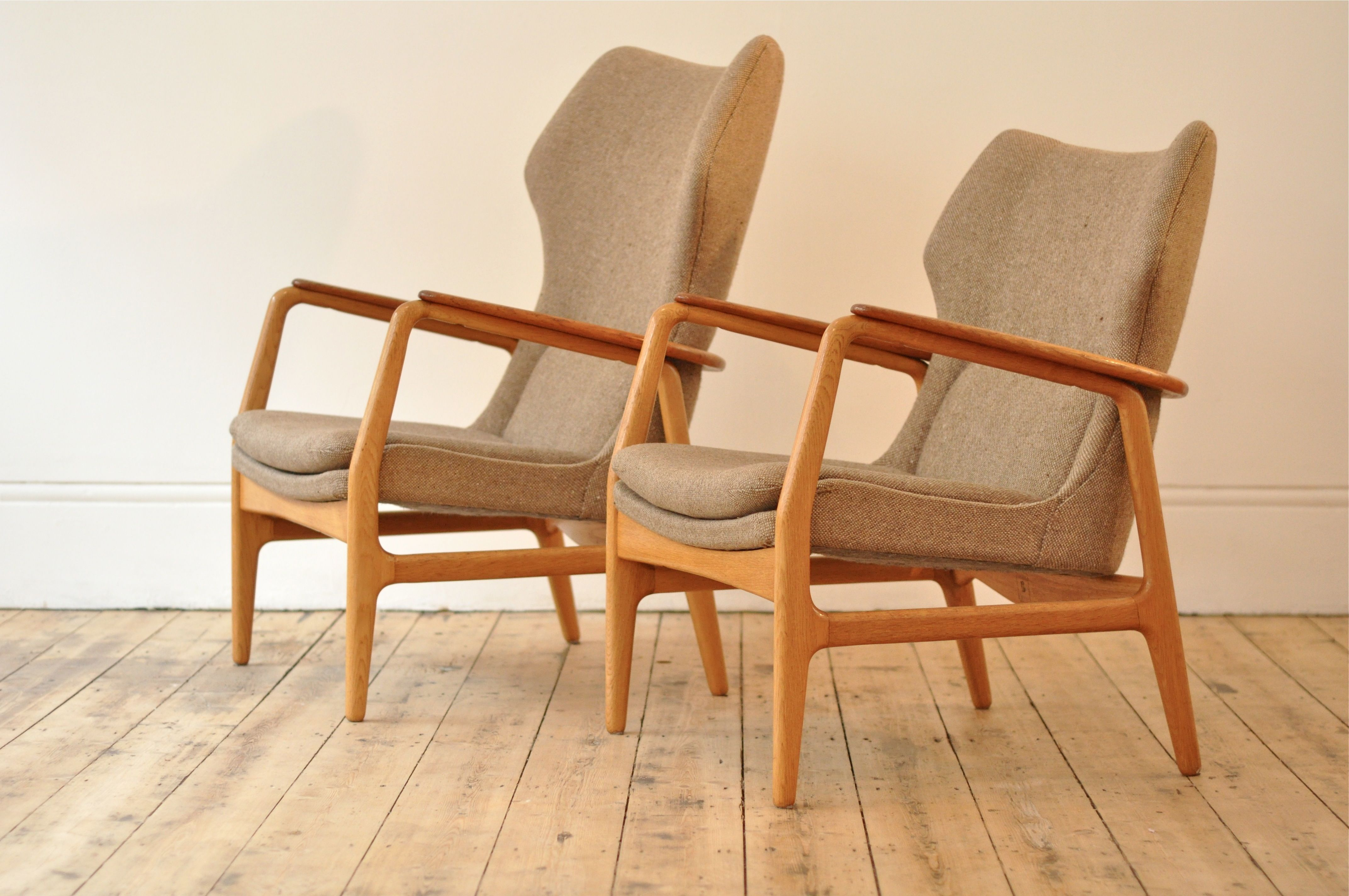 Gorgeous 1960s set of chairs by the dutch furniture makers bovenkamp