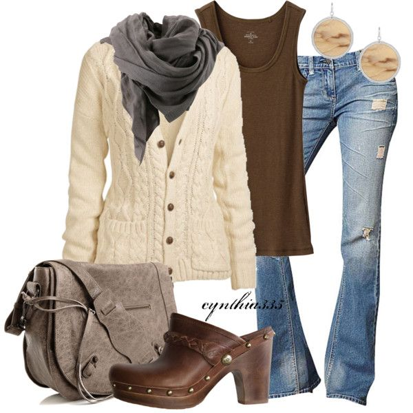 Fall Casual. Hate the shoes, love the rest!