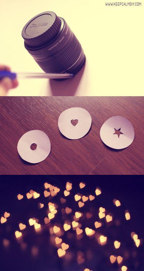 DIY | Como fazer efeito Bokeh nas fotos | KeepCalmDIY ...