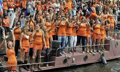 orange fans nude - Google Search