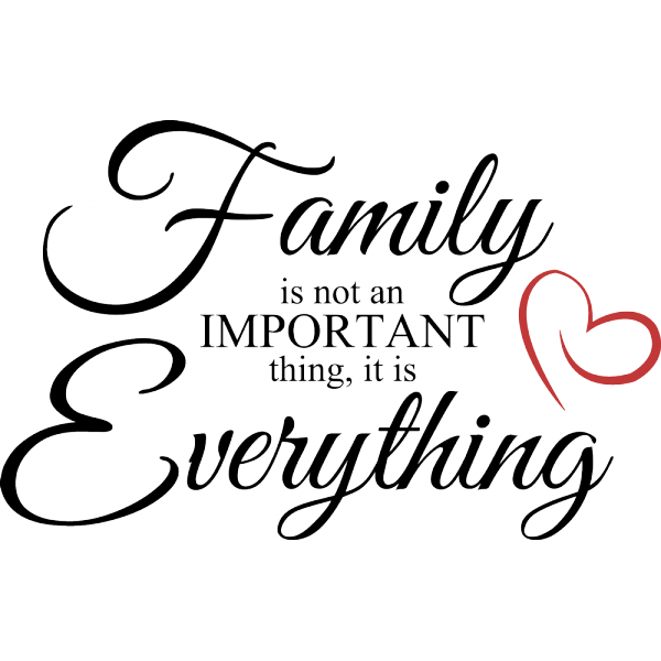 It means more to some than others... That's pretty sad.. if you can't raise a family don't have one...