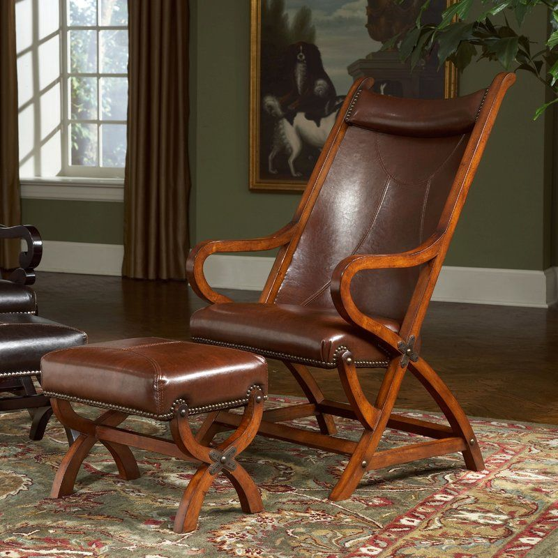 Hunter Lounge Chair and Ottoman Chair and ottoman, Largo