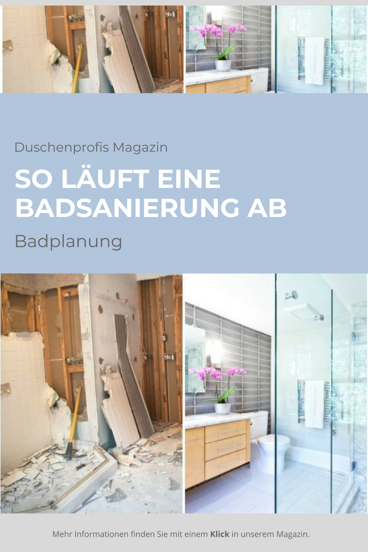 Photo of Ablauf einer Badsanierung: Tipps, wie Sie die Badsanierung planen