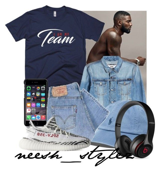 """Get You A Savage😍😘😏@donny_ savage22 on Instagram"" by tlpollard ❤ liked on Polyvore featuring AMI, County Of Milan, Polo Ralph Lauren, Beats by Dr. Dre and adidas"