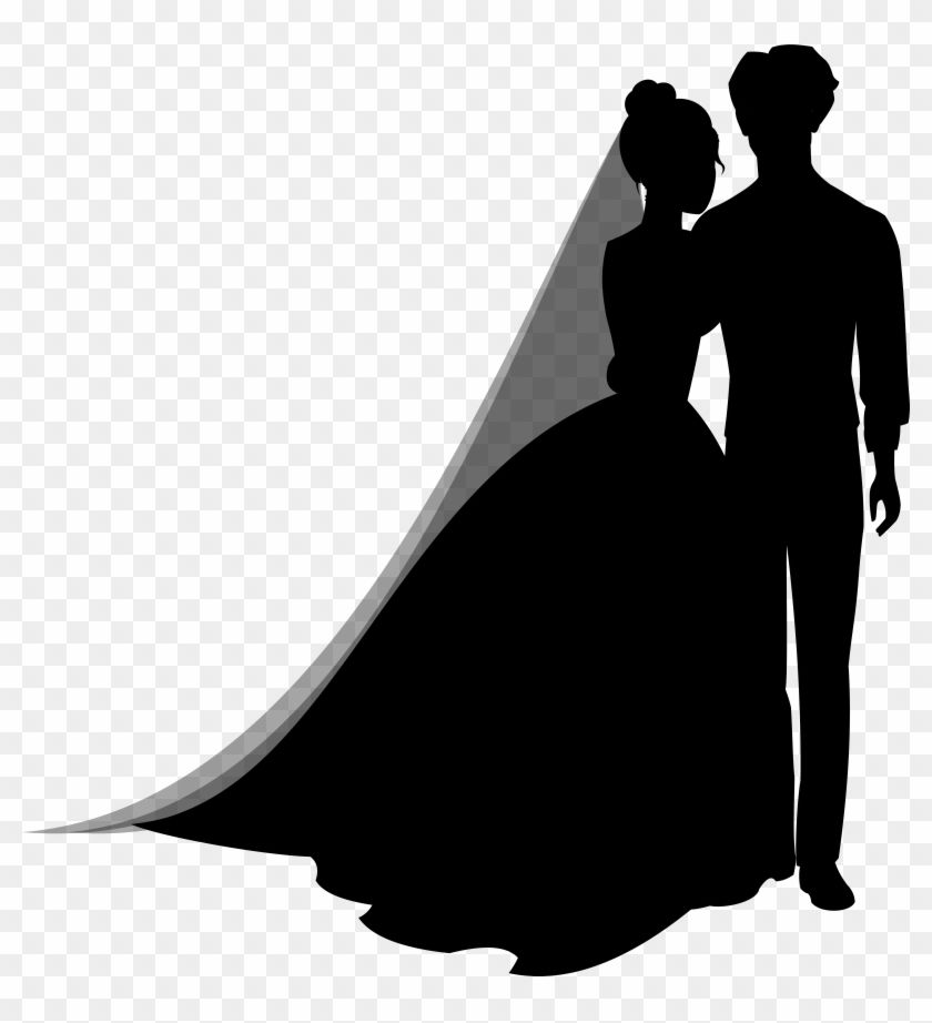Find Hd Wedding Couple Silhouettes Png Clip Art Wedding Couple Silhouette Png Transparent Png To Search An Couple Silhouette Wedding Couples Silhouette Png