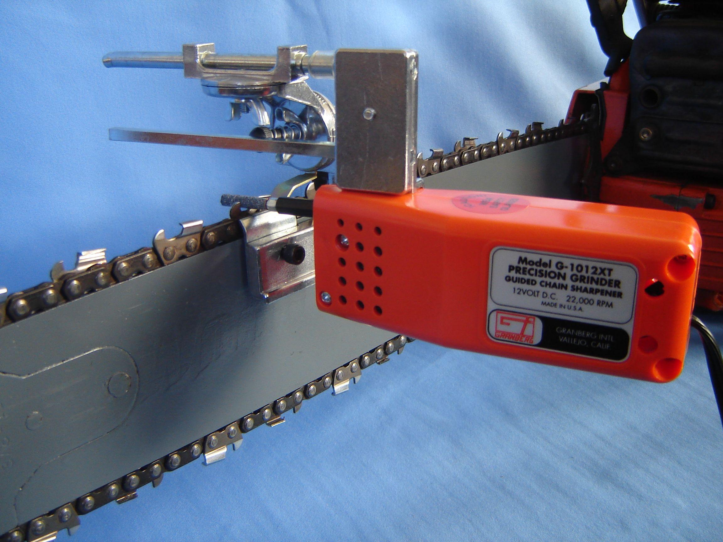 dremel chainsaw sharpener instructions