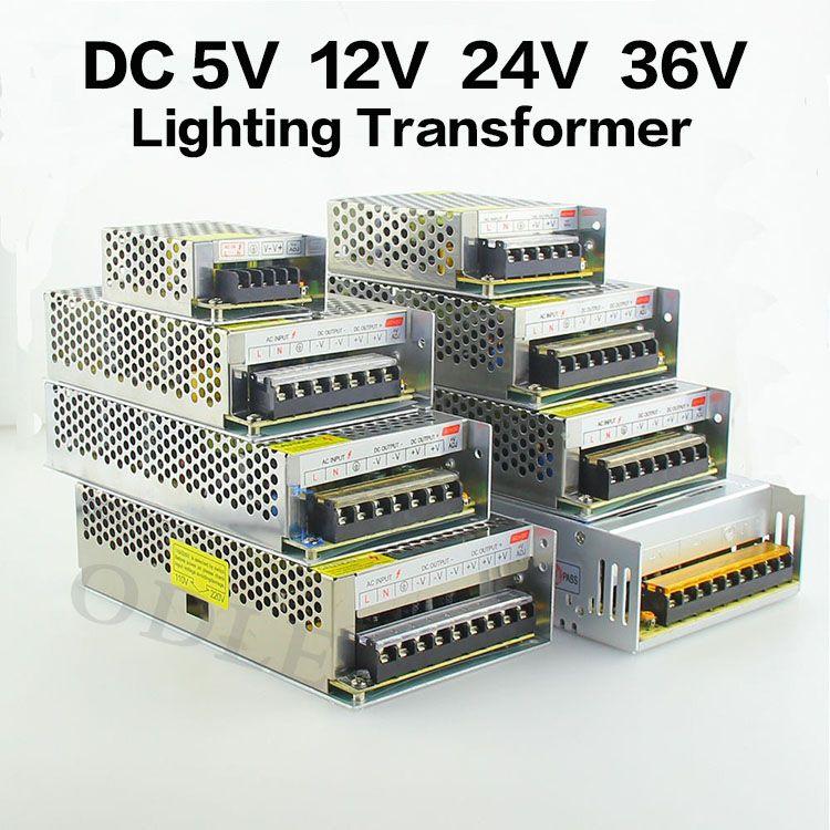 Led Beleuchtung 12V | Led Treiber Stromversorgung Ac110 220v Dc5v 12 V 24 V 36 V 60 Watt
