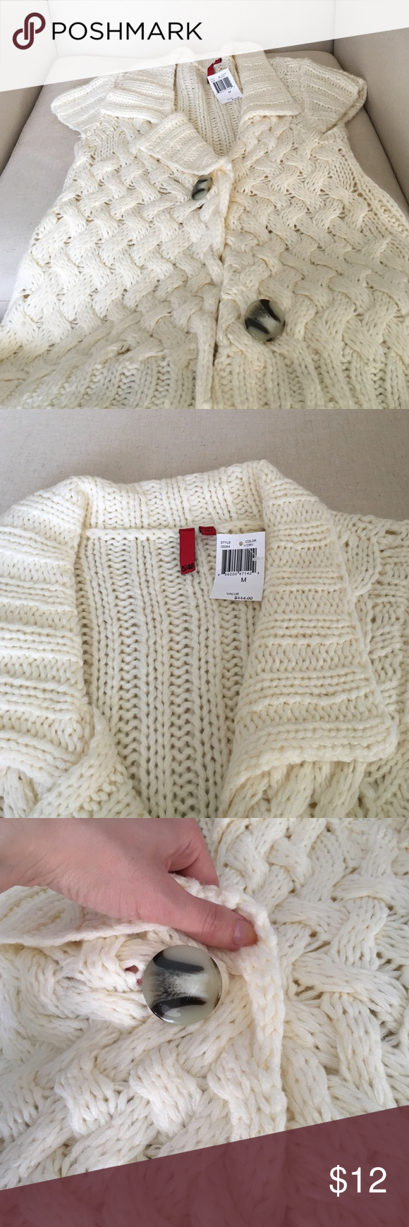 Cream colored sweater vest NWT | Short sleeves, Shorts and ...