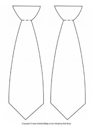 Tie template Patterns Pinterest Template, Tie crafts and - blank bookmark template