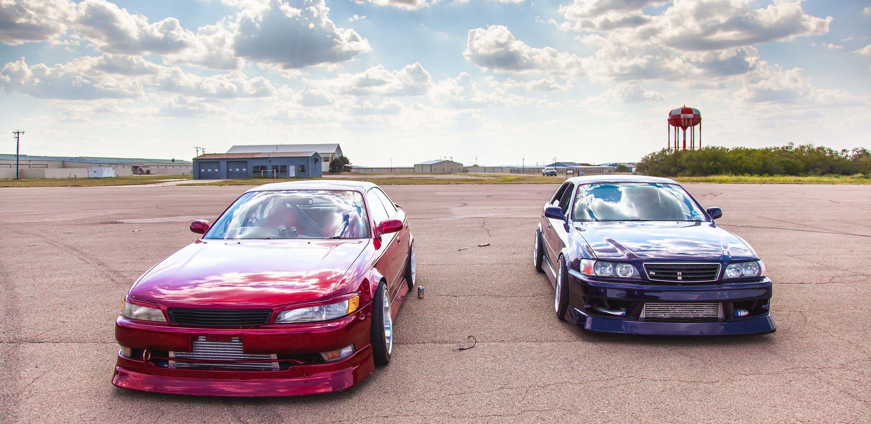 Дрэг Гонка Toyota Chaser и Toyota Mark II Drag Race Toyota Chaser Vs Toy.