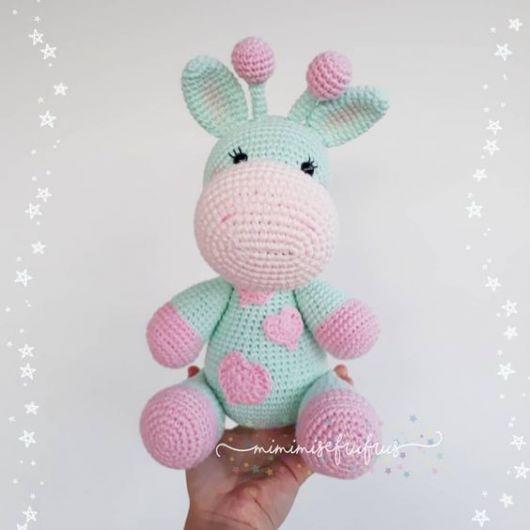 Jirafa Bebé Souvenir Amigurumi Tejido Crochet - $ 450,00 en Mercado Libre | 530x530