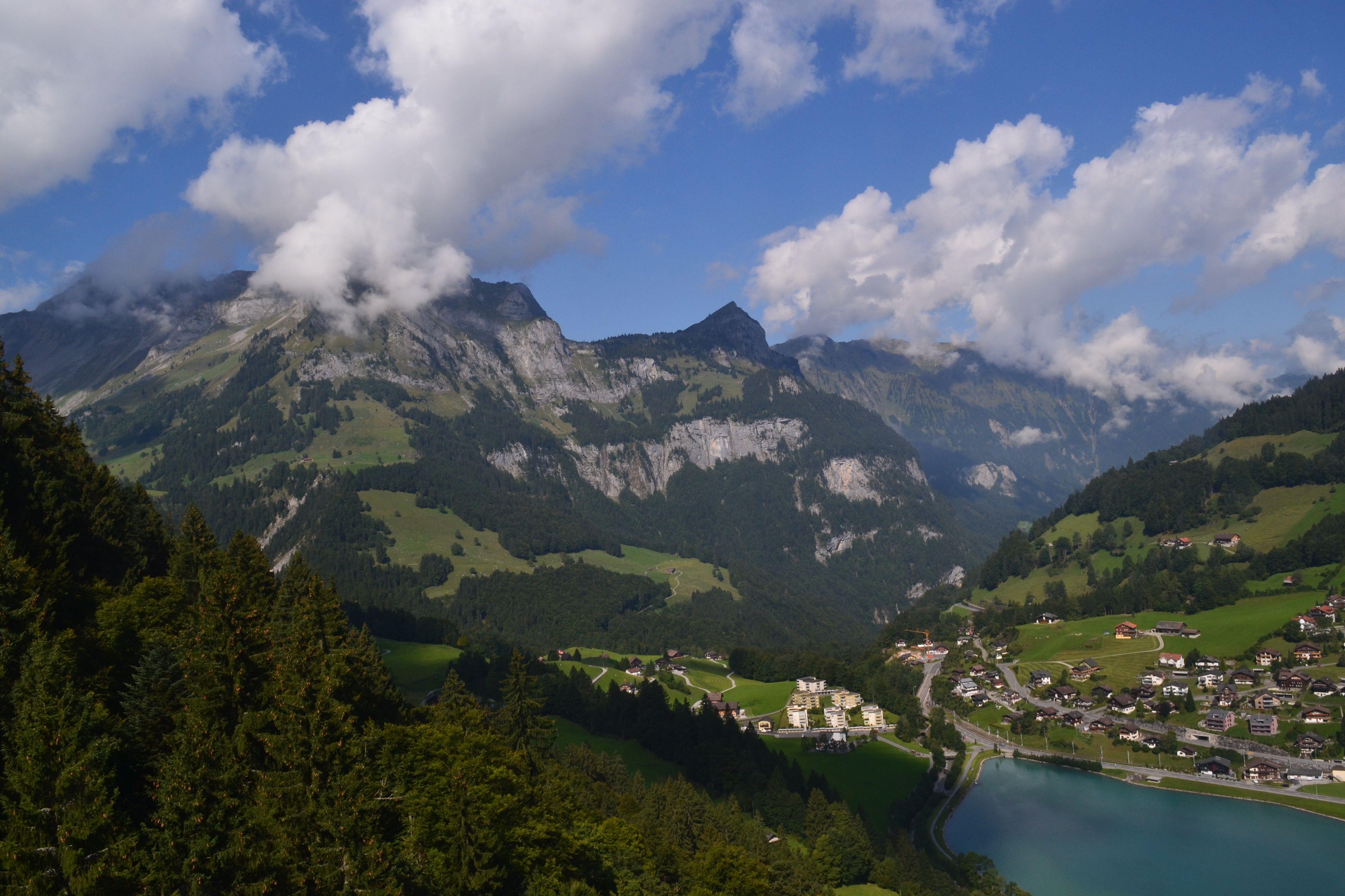 View from Mt. Titlis Switzerland