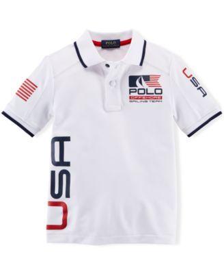 Ralph Lauren Little Boys' Nautical Polo | Polo shirt outfits