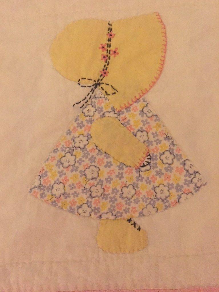 Sun Bonnet Sue – A Vintage Quilt Rescue! – Sew Sassy by Paula #sunbonnetsue #sunbonnetsue