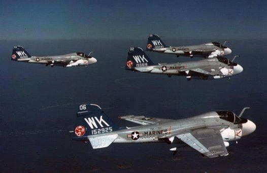 A-6 inbound Alpha strike