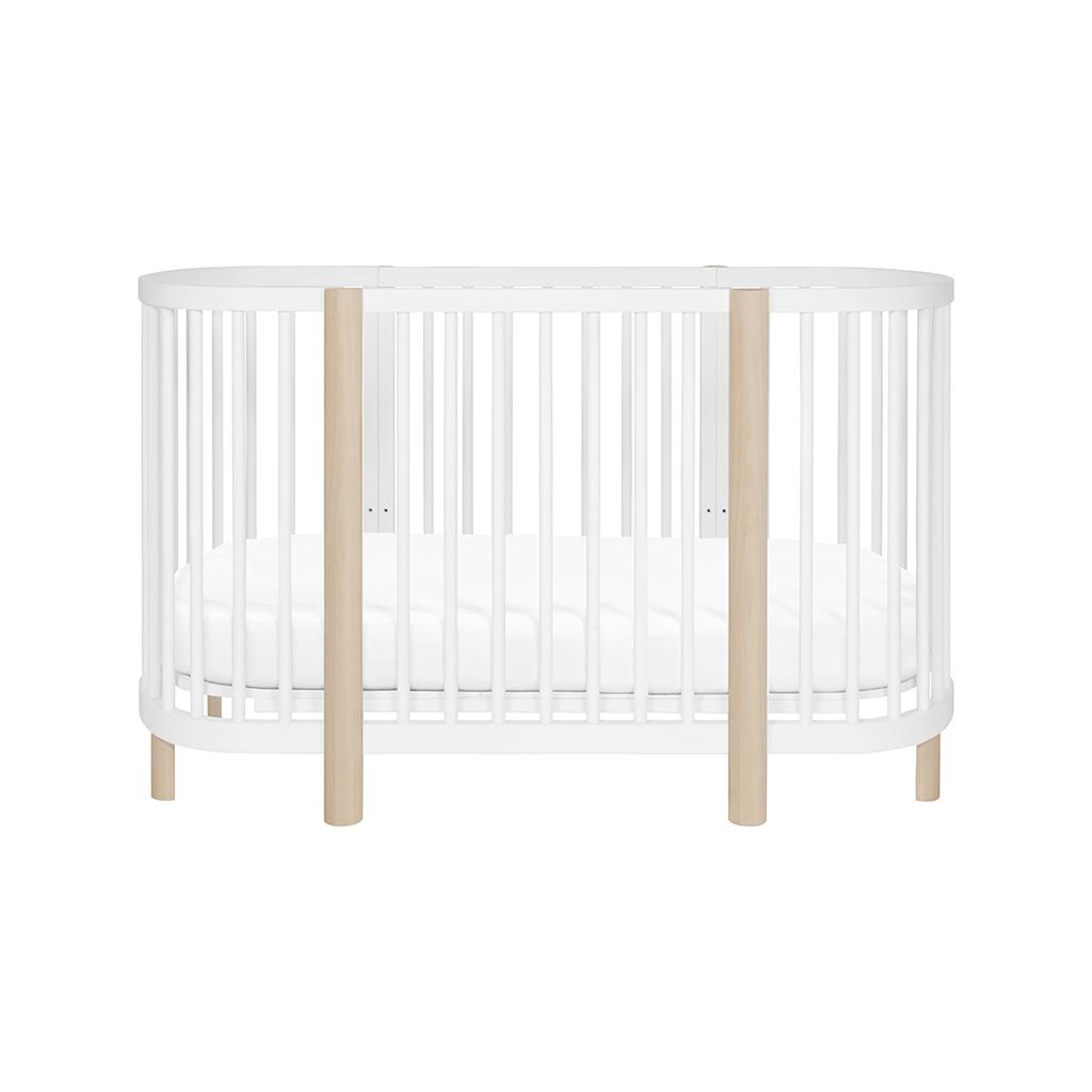 Hula Convertible Oval Crib Oval Crib Cribs Baby Crib Designs