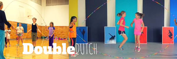 Double Dutch with Ropeworks Jump rope, Basketball court