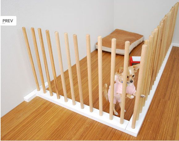minimalist Japanese dog gate (so much prettier than that ugly baby ...