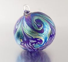 Hand Blown Christmas ornaments - Google Search | Glass Ornaments ...